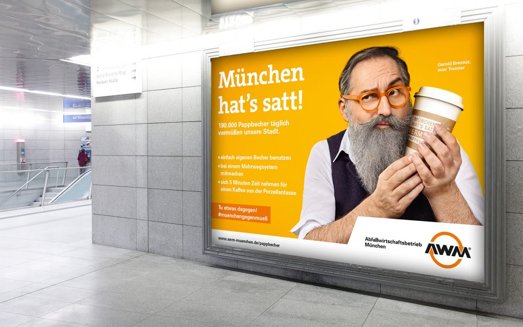 München im Kampf gegen Pappbecher