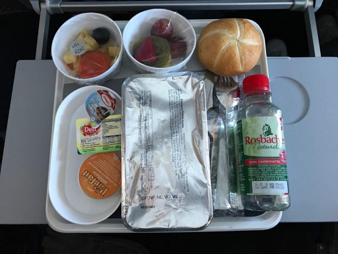 Weniger Müll im Flugzeug