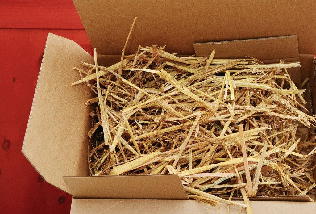 Bio Verpackung Stroh