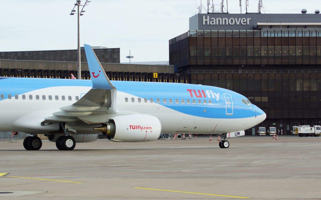 Mehr Nachhaltigkeit auf TUI Flügen