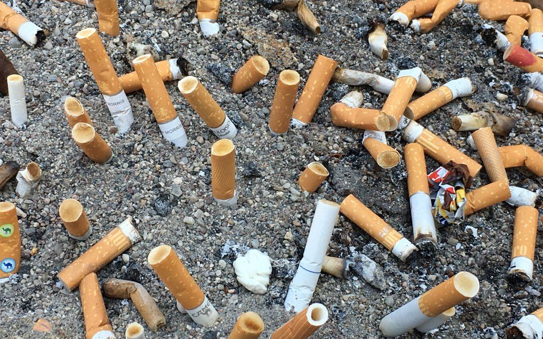 Unterschätzt: Zigarettenmüll und -gift