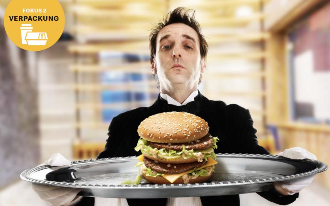 McDonalds reduziert Plastik erheblich