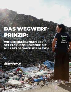 Plastikmüll Report 2019 Greenpeace