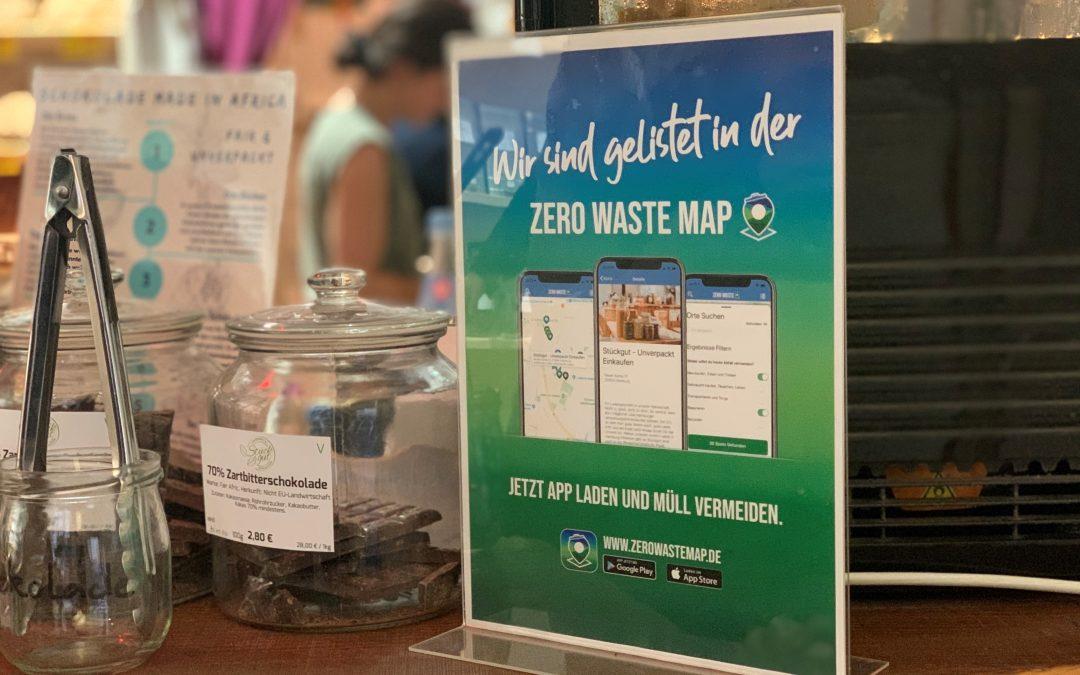 84% weniger Müll im unverpackt-Laden