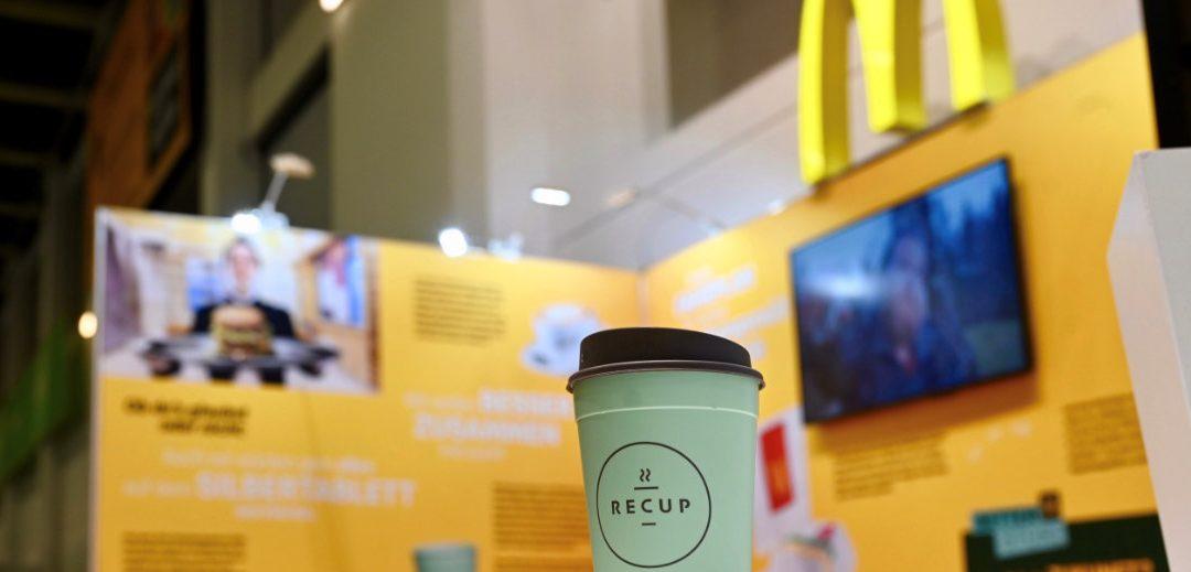 McDonald´s setzt RECUP Kaffeebecher ein
