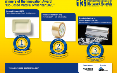 Innovationspreis Bio-based Material of the Year 2020