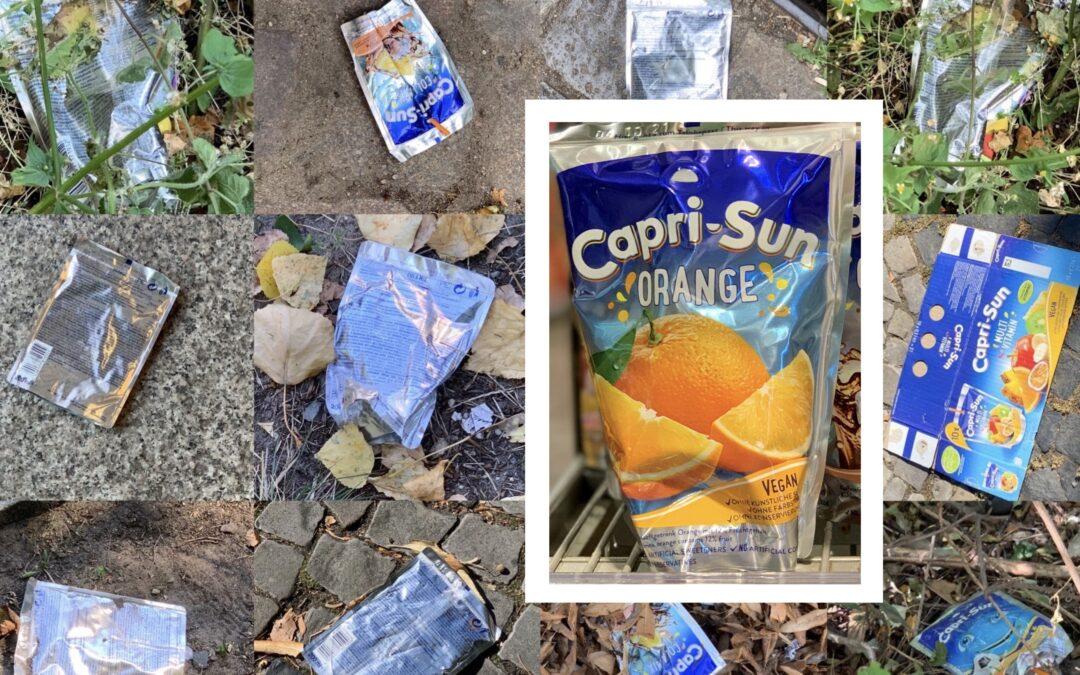 Capri-Sun Müll