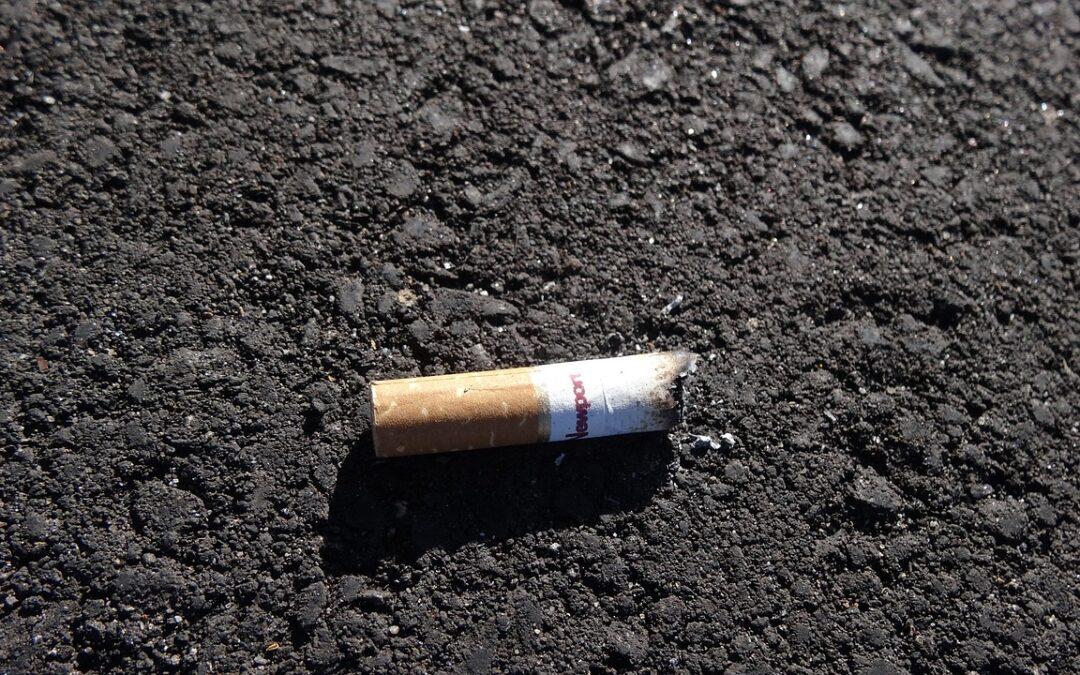 700 Mio. EUR für Zigarettenkippen