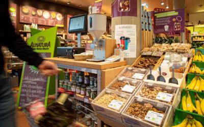 Unverpackt bei Alnatura: Nüsse und Cremes