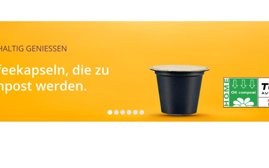 Heimkompostierbare Kaffee-Kapseln